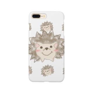 クレヨンハリネズミ Smartphone cases