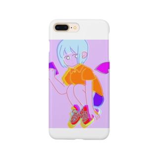 すまほちゃん Smartphone cases