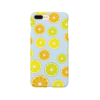 オレンジ&レモン&ライム  Smartphone cases