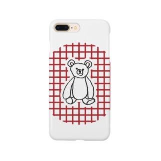 テディベア Smartphone cases