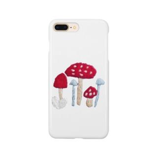 きのこたち Smartphone cases
