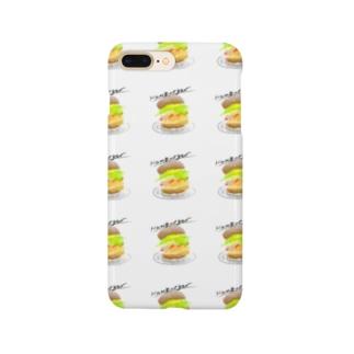 めちゃくちゃ伝わるハンバーガー Smartphone cases