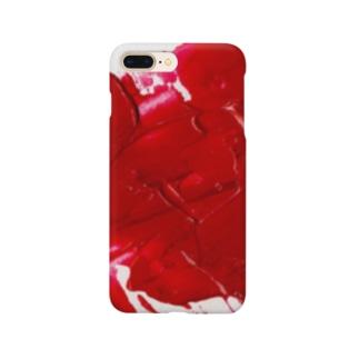 赤 Smartphone cases