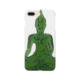 お釈迦様は緑 Smartphone Case
