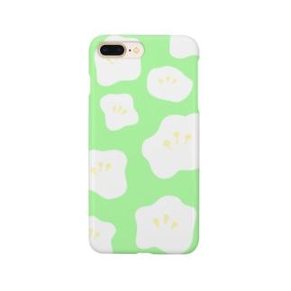 フラワー(GREEN) Smartphone Case