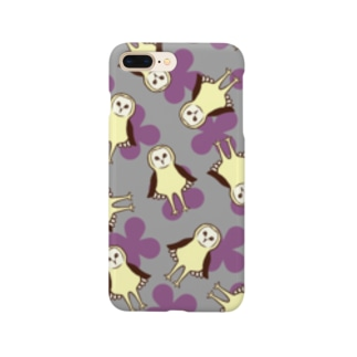 メンフクロウ Smartphone cases