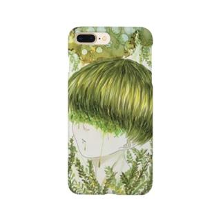 緑に魅せられて Smartphone cases