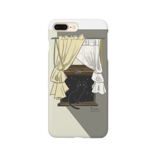 夜猫 ~night cat~ Smartphone cases