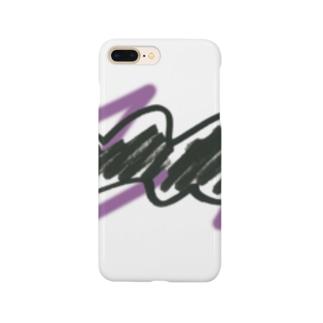 ジグザグ1 Smartphone cases
