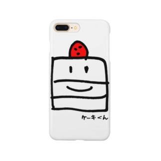 ケーキくん Smartphone cases