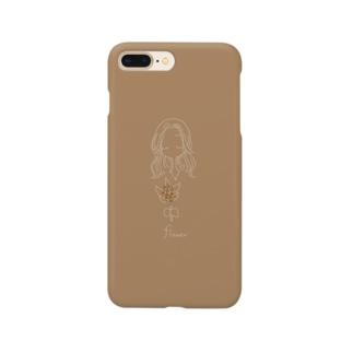 flower 金木犀  Smartphone cases