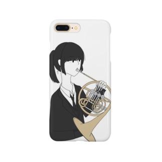 ホルン吹きちゃん Smartphone cases