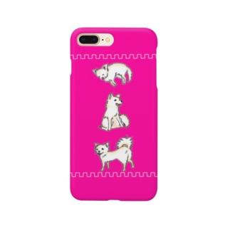 3わんこ Smartphone cases