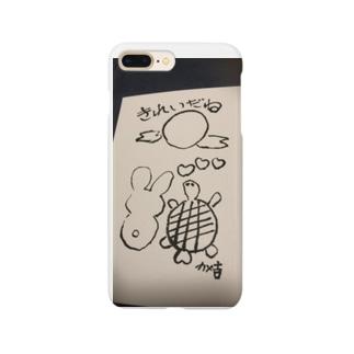 お月さまきれいだね Smartphone cases