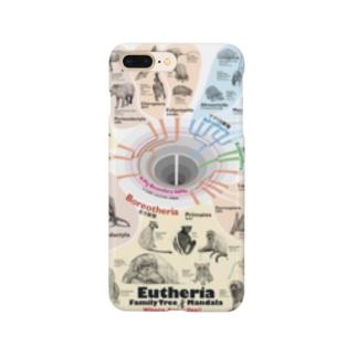 系統樹マンダラ【真獣類編】 Smartphone cases