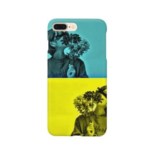 鏡の自分 Smartphone cases