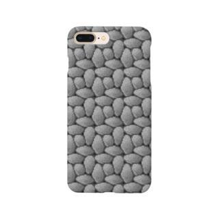 ドット絵ぎっしり石 Smartphone cases
