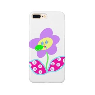 バリ眠ハナちゃん Smartphone cases