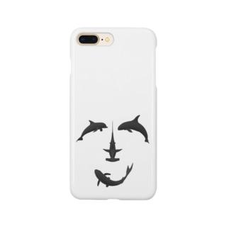 笑顔でギョギョギョ! Smartphone cases