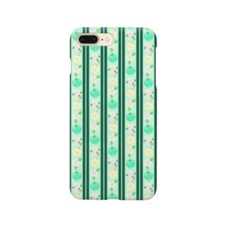ちょっとロリータ系青りんご柄 Smartphone cases