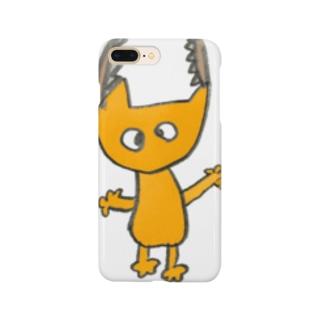 ともき画伯のゆるキャラ Smartphone cases
