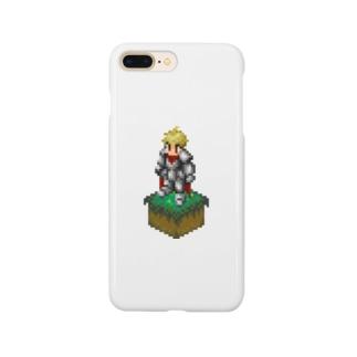 ドット絵 ナイト Smartphone cases