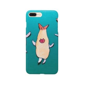 エビフライの妖精フラちゃん・ミドリ Smartphone cases