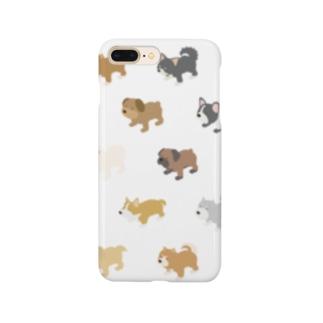 イッヌいっぱい天国 Smartphone cases