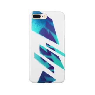 ターコイズ&ブルー Smartphone cases