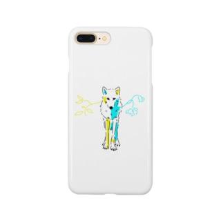 哀愁オオカミ Smartphone Case