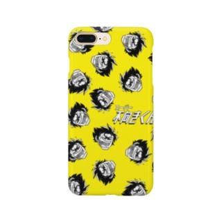 スーパー不向きくん(たんぽぽ) Smartphone cases