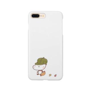 mushroom huntingスマホケース Smartphone cases