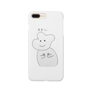 かわいいキャラクター Smartphone cases