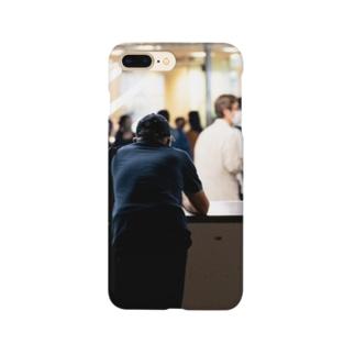 男の背中 Smartphone cases