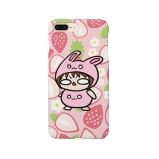 苺うさぎあちし Smartphone cases