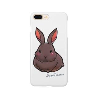 不思議野ウサギ Smartphone cases