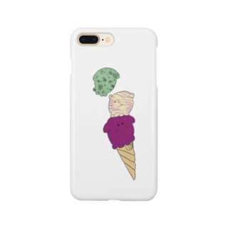 アイスメンダコ Smartphone cases