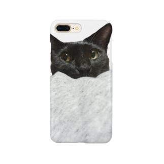 くろいねこ Smartphone cases