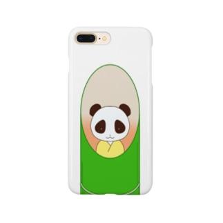 chanAOの竹パンダ Smartphone cases