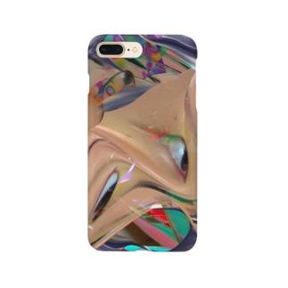 圧縮変顔 Smartphone cases