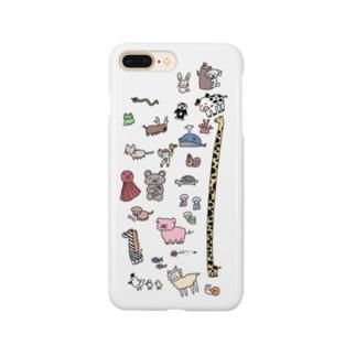 生き物たちの集い Smartphone cases