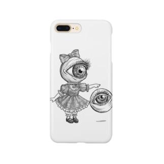 目玉少女 Smartphone cases