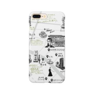 鶯谷MAPスマホケース Smartphone cases
