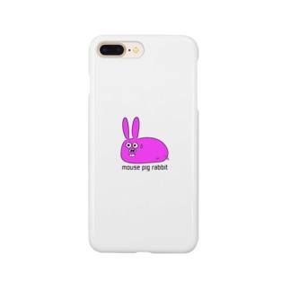 ねずみぶたうさぎ Smartphone cases