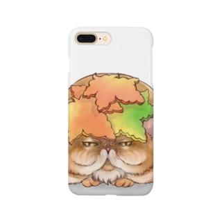 秋の和菓子 Smartphone cases
