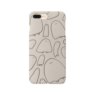 バケバケポポ Smartphone cases