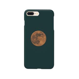 怪しい月と世界 Smartphone cases
