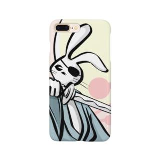 兎侍 Smartphone cases