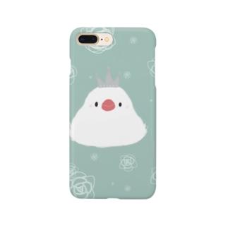 ふわふわエンガワお姫様 Smartphone cases