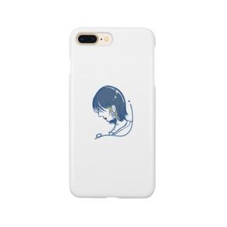 外ハネイヤリングカラー Smartphone cases